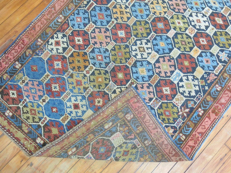 An early 20th century high collectible Caucasian Kuba rug.