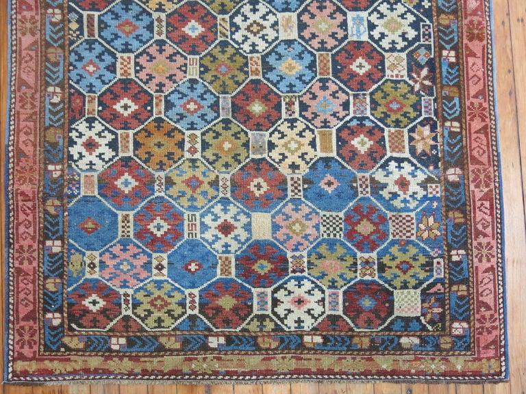 Antique Caucasian Kuba Rug For Sale 1