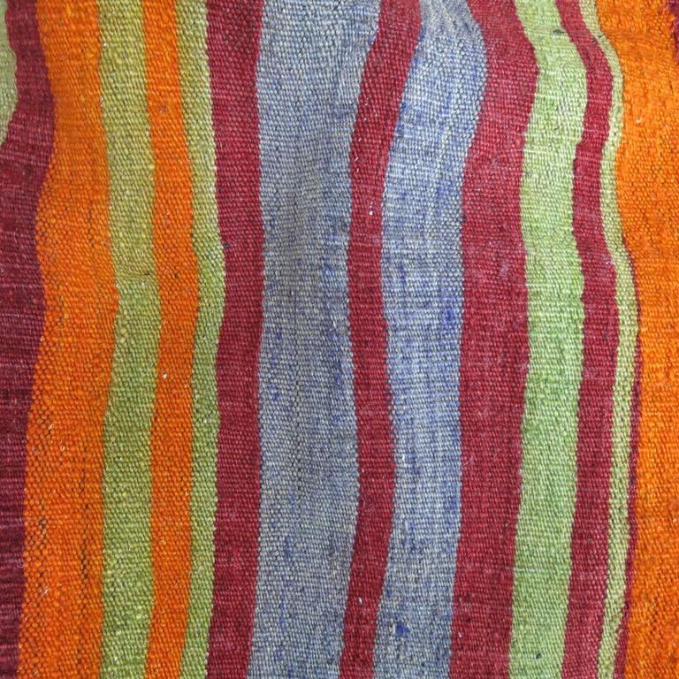 Adirondack Turkish Yastik Pillow Textile Rug Bag For Sale