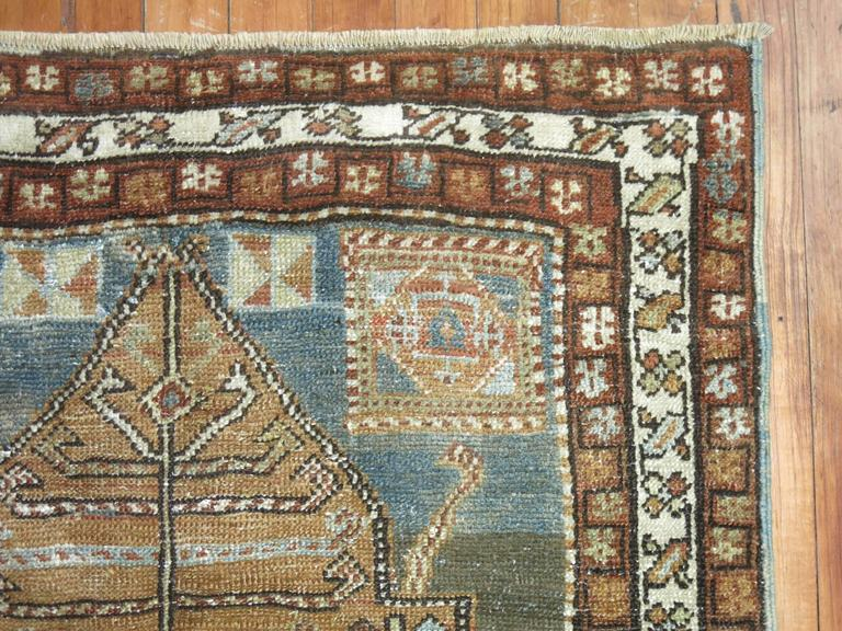 Northwest Persian Heriz Runner For Sale At 1stdibs