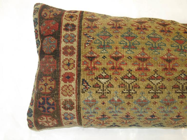 Fine quality Caucasian pillow. Zipper closure included.