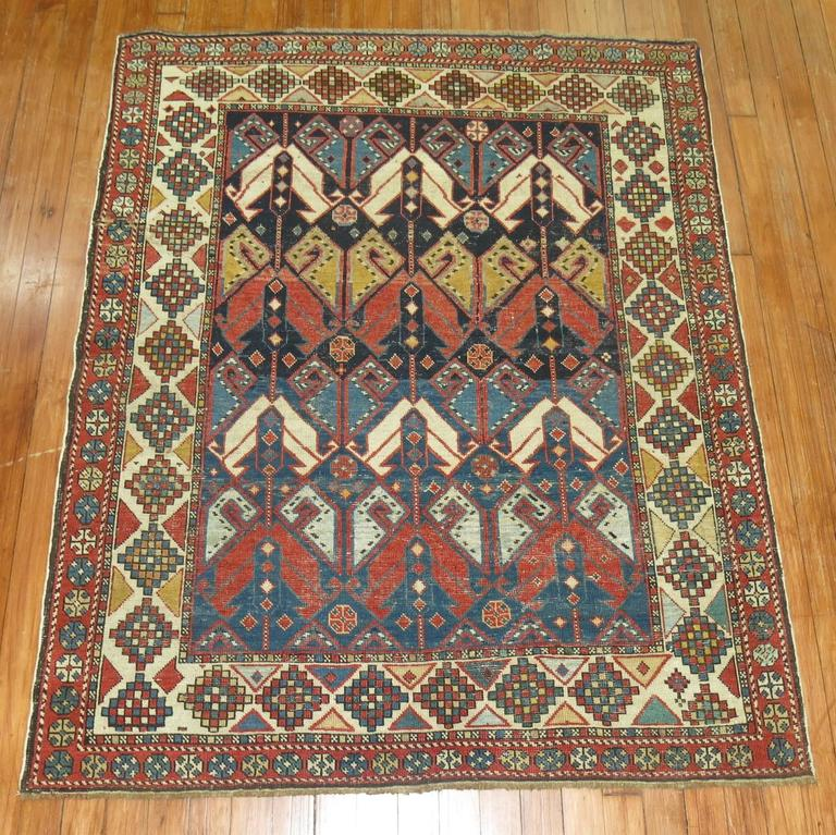 Antique Shirvan Rug 6
