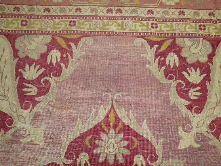 Antique Turkish Herekeh Rug 7