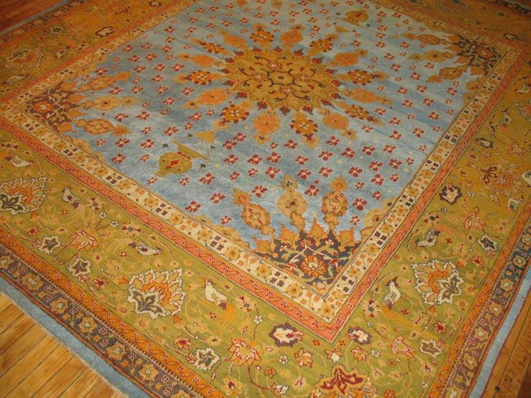 Antique Amritsar Carpet For Sale At 1stdibs