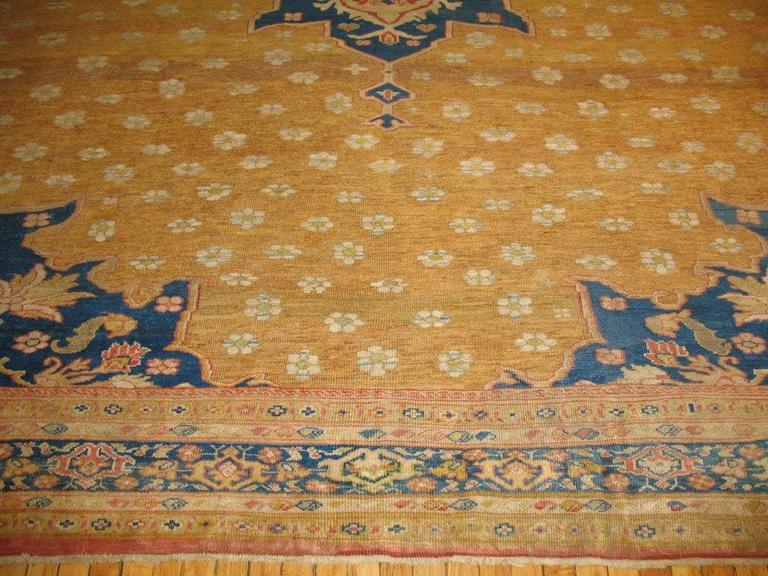 American Classical Ziegler Mahal Rug For Sale