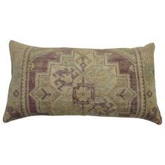 Lavender Oushak Lumbar Size Pillow