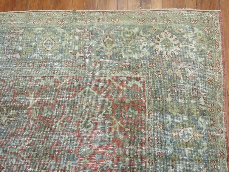 Other Shabby Chic Persian Mahal Carpet For Sale