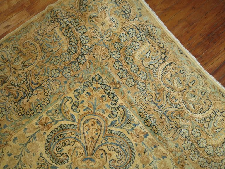 Antique Persian Kerman In Good Condition For Sale In New York, NY