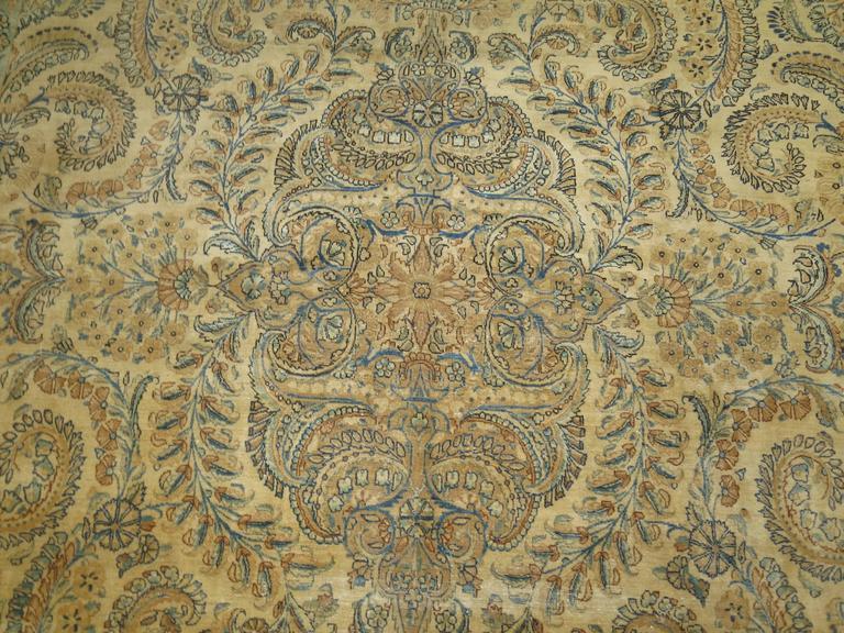 Antique Persian Kerman For Sale 3