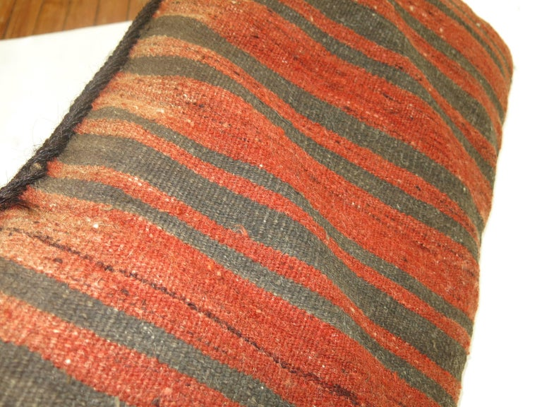 Balouch Rug Pillow In Excellent Condition For Sale In New York, NY