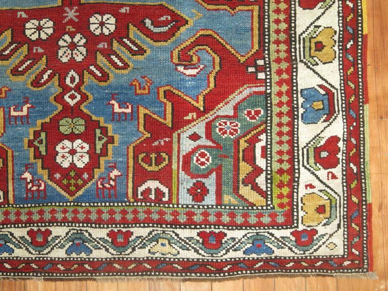 Antique Caucasian Rug 9
