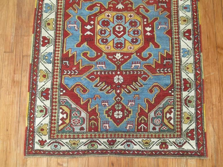 Antique Caucasian Rug 5