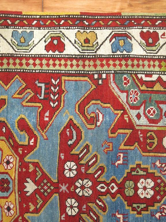 Antique Caucasian Rug 6