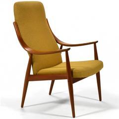 Peter Hvidt & Orla Mølgaard-Nielsen High Back Easy Chair
