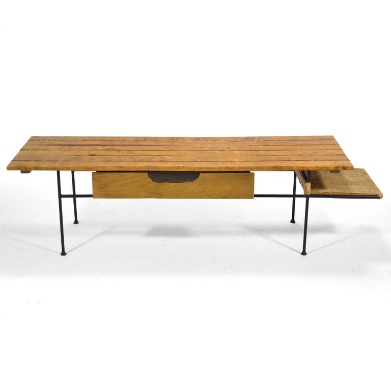 Mid-Century Modern Arthur Umanoff Coffee Table or Bench For Sale