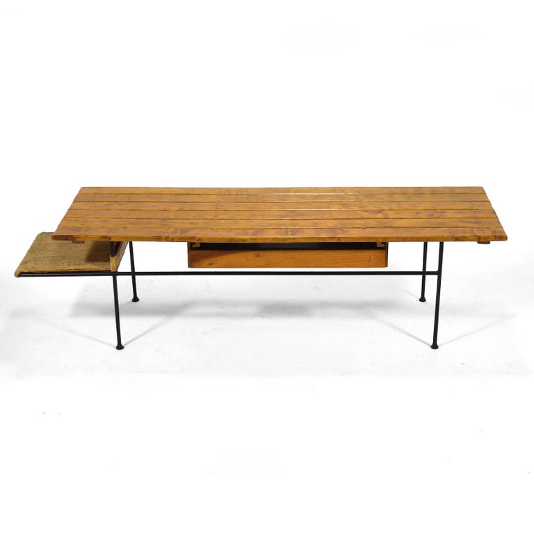 American Arthur Umanoff Coffee Table or Bench For Sale