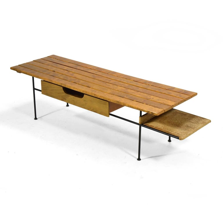 Arthur Umanoff Coffee Table or Bench For Sale 2