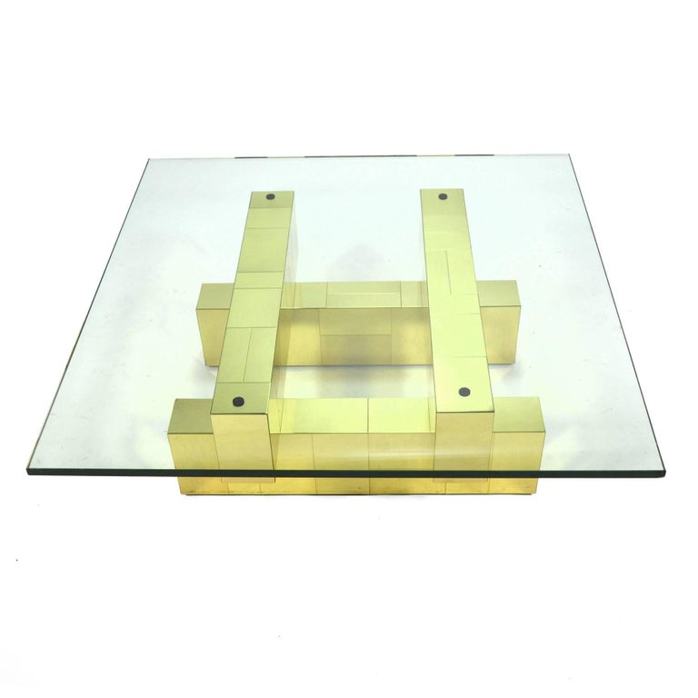 Paul Evans Cityscape Coffee Table by Directional For Sale 1