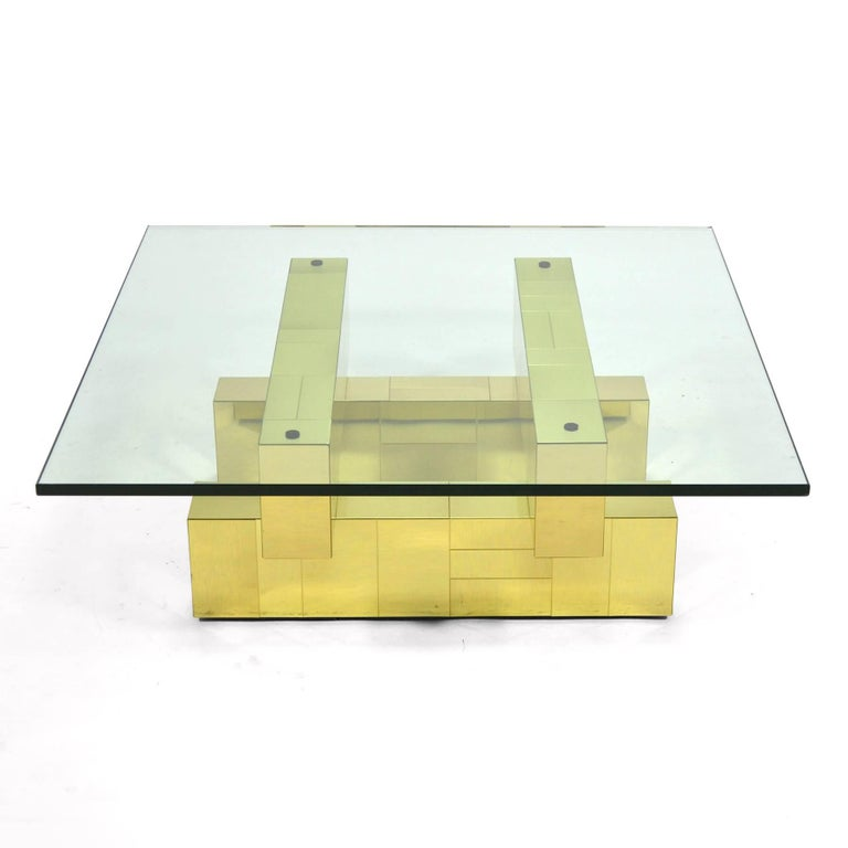 Paul Evans Cityscape Coffee Table by Directional For Sale 2