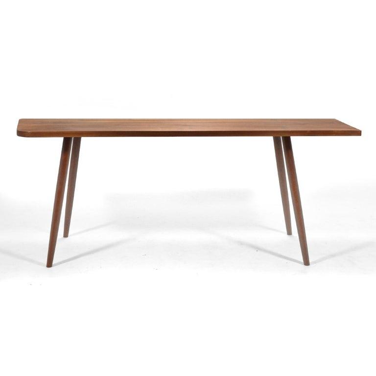 Mid-Century Modern Robert Lovett Walnut Studio Craft Table or Desk For Sale