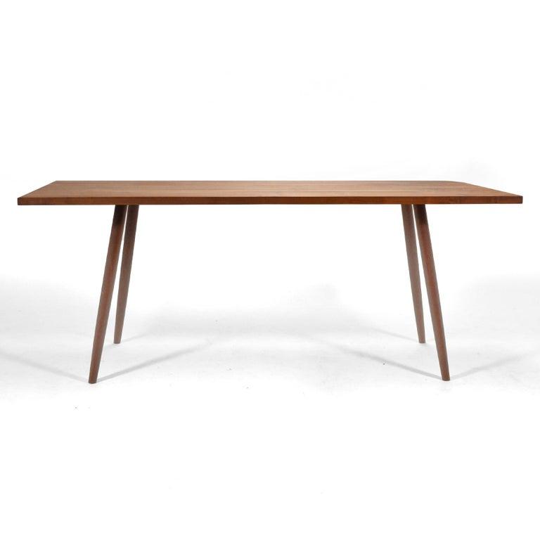 American Robert Lovett Walnut Studio Craft Table or Desk For Sale
