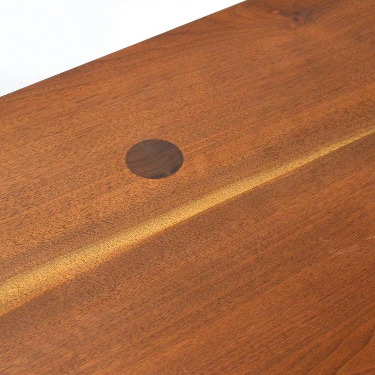 Mid-20th Century Robert Lovett Walnut Studio Craft Table or Desk For Sale