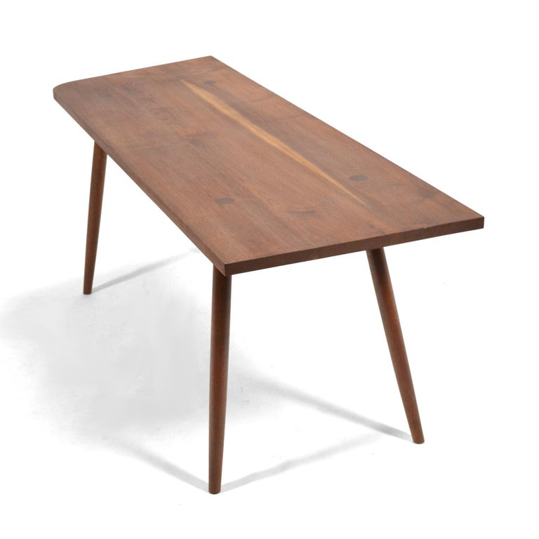 Robert Lovett Walnut Studio Craft Table or Desk For Sale 1