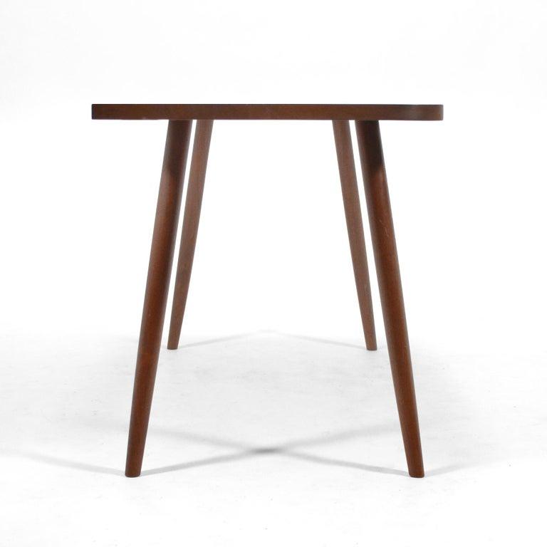 Robert Lovett Walnut Studio Craft Table or Desk For Sale 3