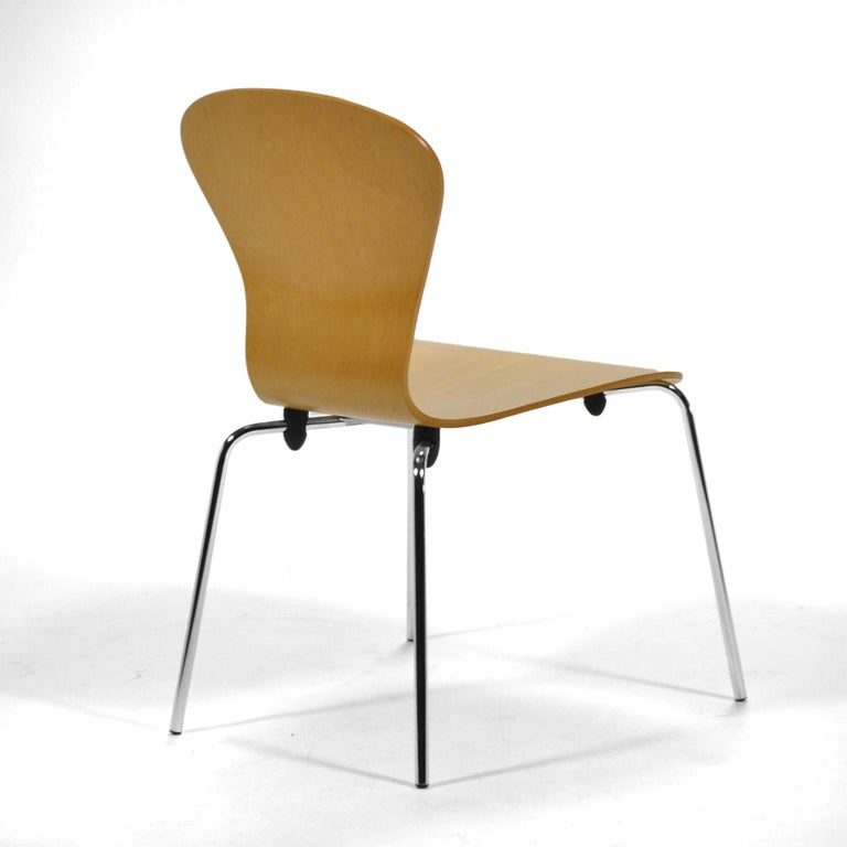 "Contemporary Set of 6 Ross Lovegrove ""Sprite"" Chairs For Sale"