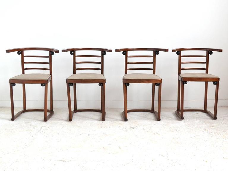 Joseph Hoffman Fledermaus Chairs By Thonet 3