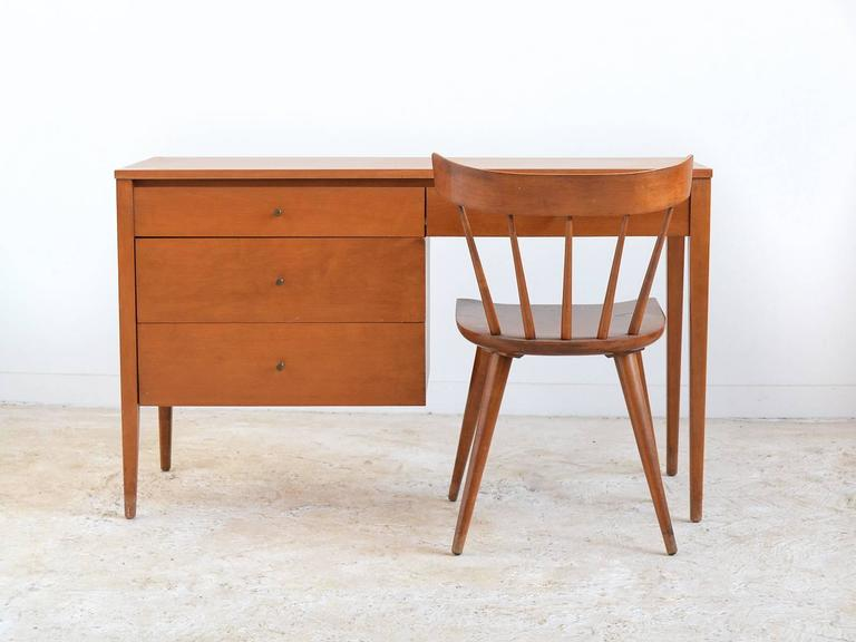 Paul McCobb Planner Group Desk and Chair by Winchendon For
