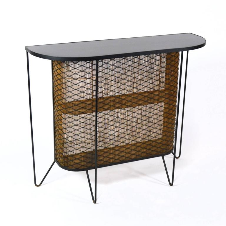 Frederick Weinberg Iron And Bamboo Bar For Sale At 1stdibs