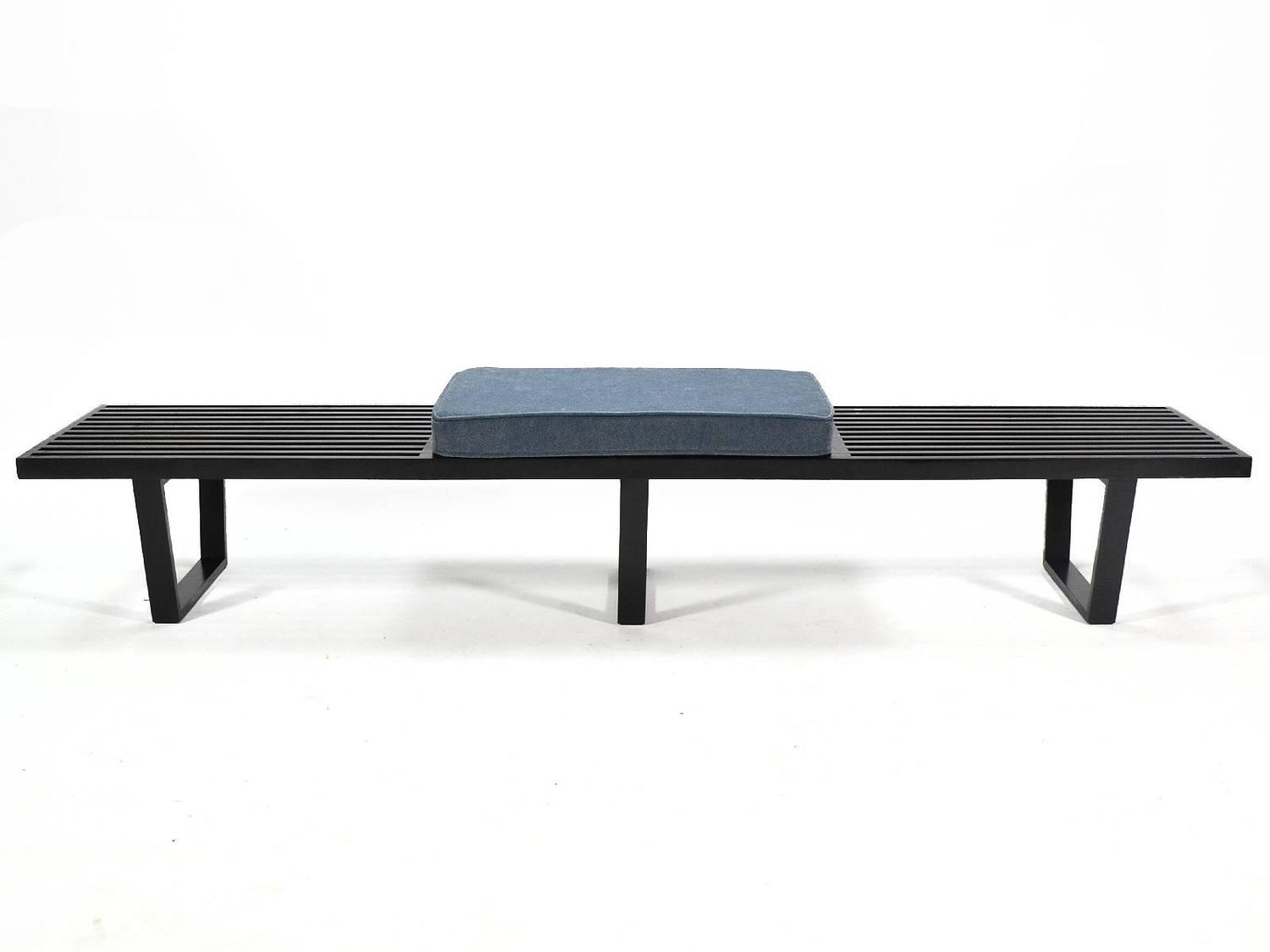 George Nelson Slat Platform Bench At 1stdibs