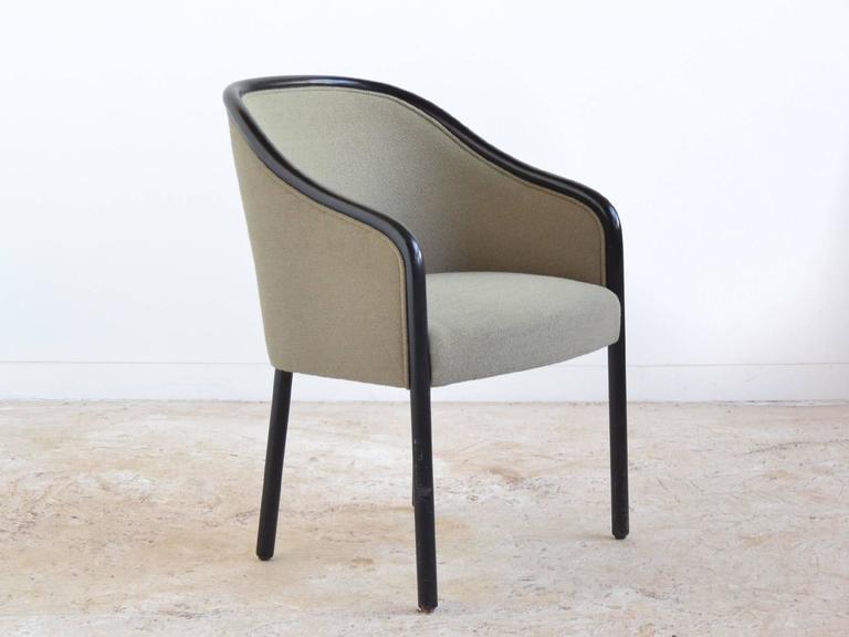 Modern Ward Bennett Pair of Armchairs by Brickel For Sale