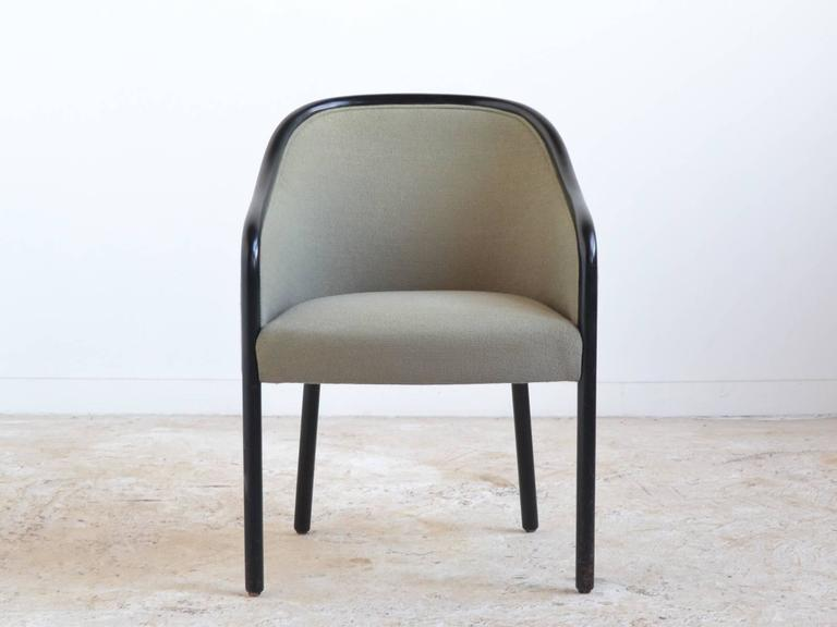 American Ward Bennett Pair of Armchairs by Brickel For Sale
