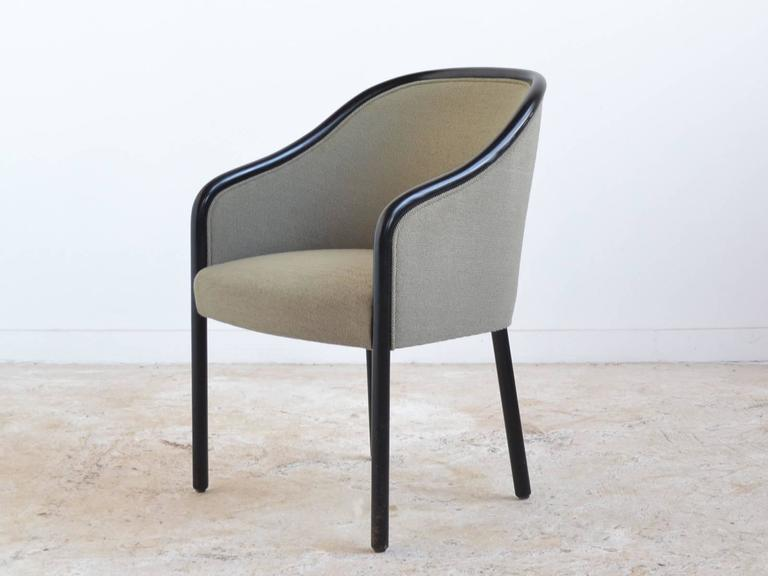 Lacquered Ward Bennett Pair of Armchairs by Brickel For Sale