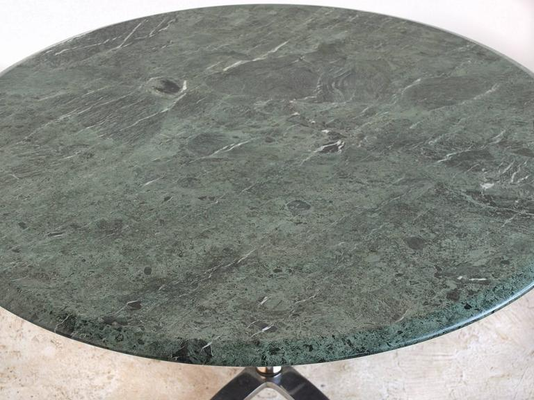 Modern Nicos Zographos Table with Marble Top For Sale