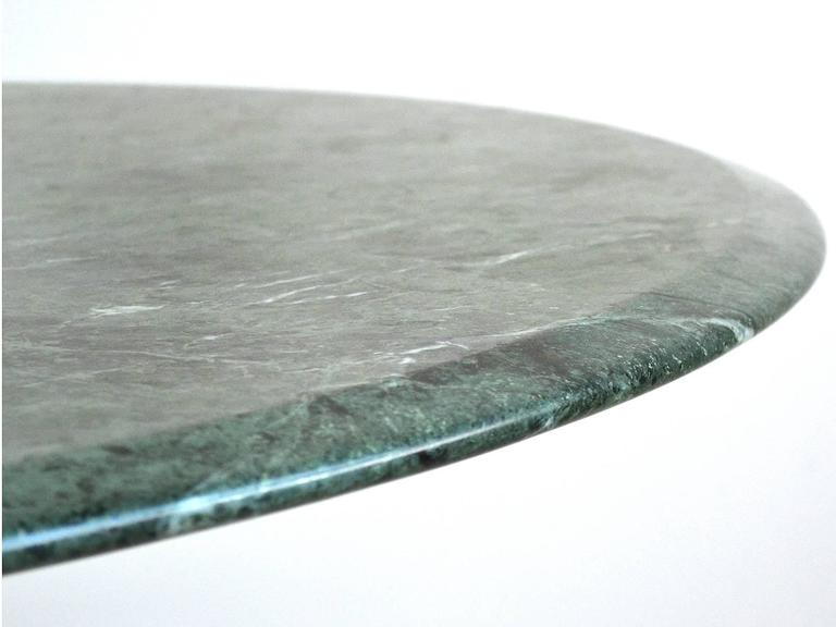 Mid-20th Century Nicos Zographos Table with Marble Top For Sale