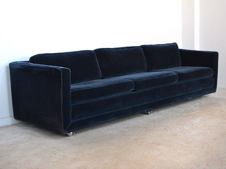 Ward Bennett Sofa In Mohair By Brickell 2