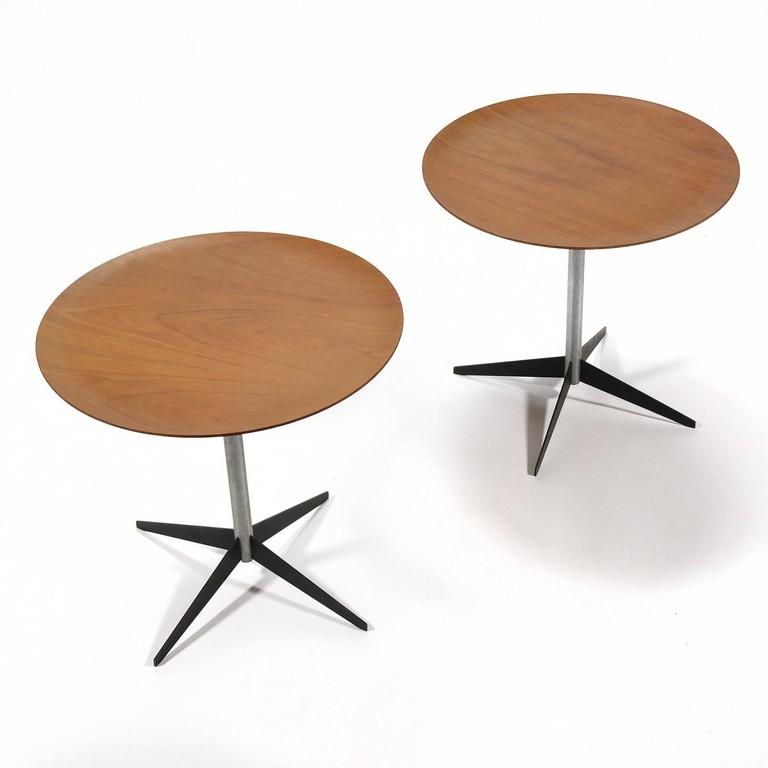 Mid-Century Modern George Nelson Pair of Side Tables by Herman Miller For Sale