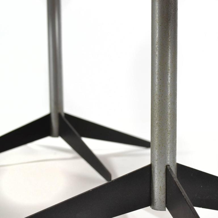 Steel George Nelson Pair of Side Tables by Herman Miller For Sale