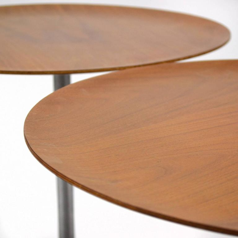 George Nelson Pair of Side Tables by Herman Miller For Sale 1