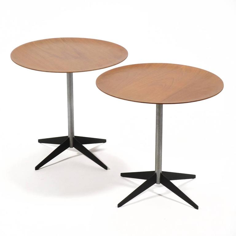 George Nelson Pair of Side Tables by Herman Miller For Sale 2