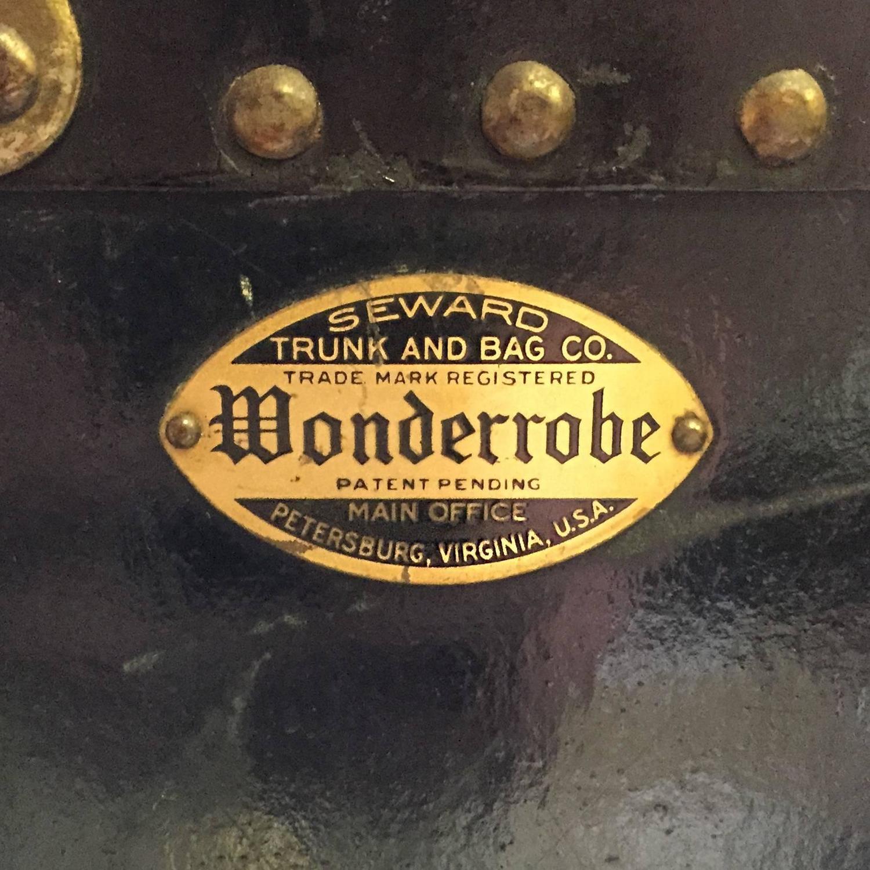 Antique Wonderrobe Steamer Trunk Wardrobe Chest At 1stdibs