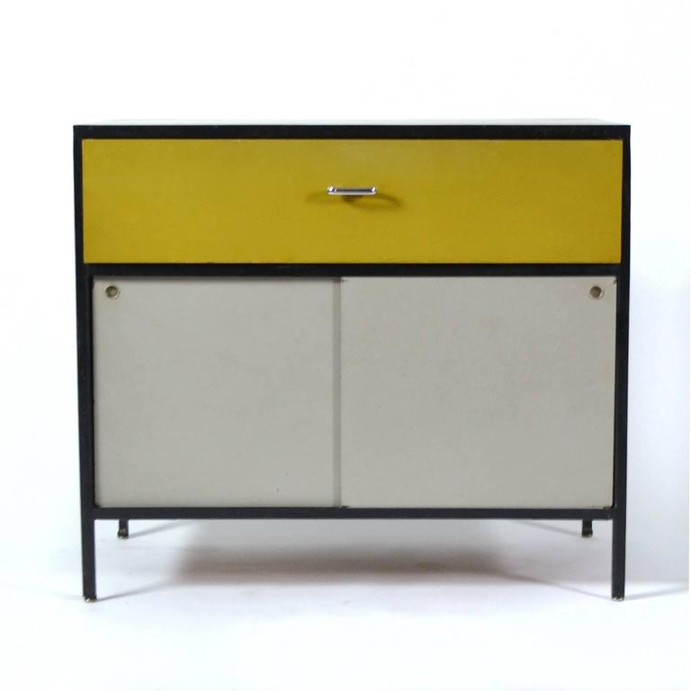 George Nelson Steel Frame Cabinet By Herman Miller 2