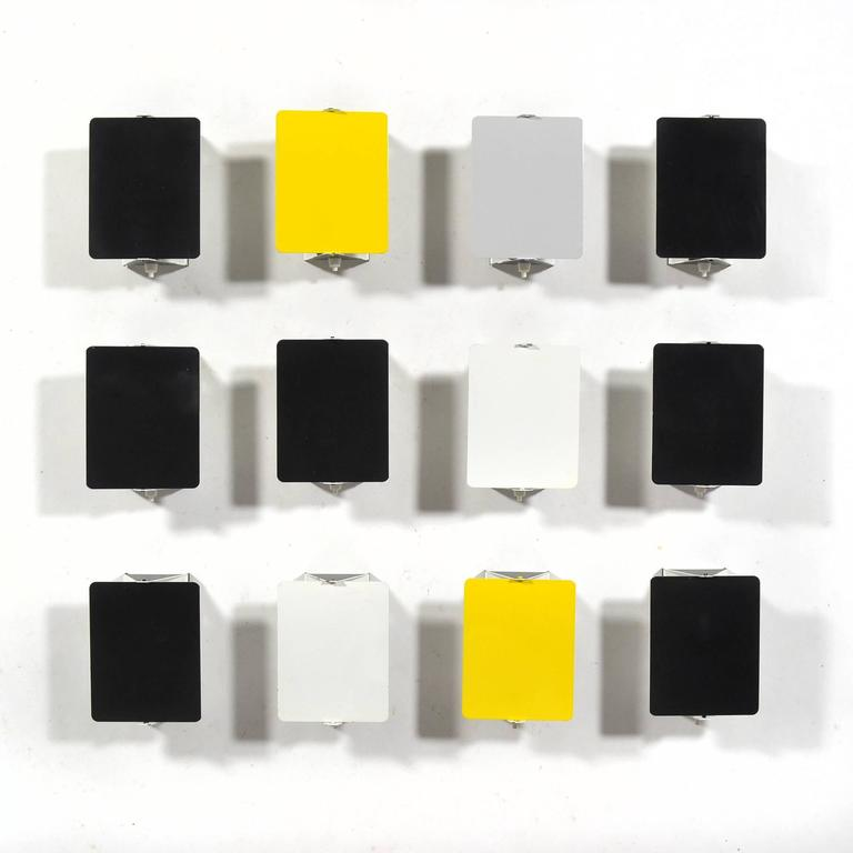Charlotte Perriand Rare Set of 12 CP-1 Wall Lamps 2