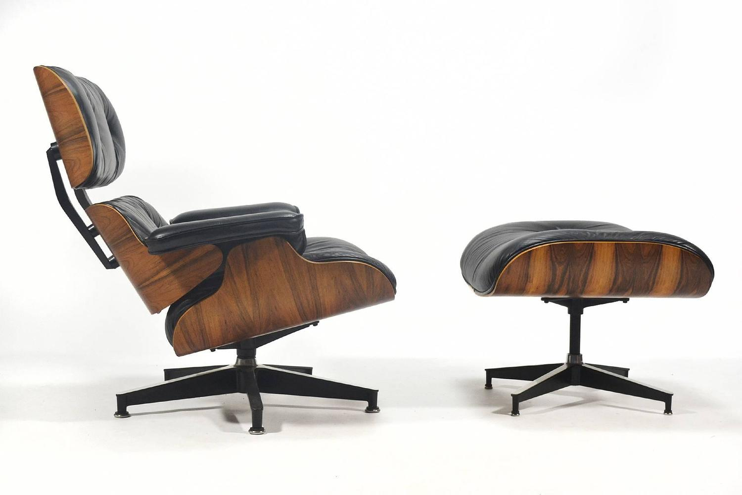 Eames 670 671 lounge chair and ottoman by herman miller - Herman miller lounge chair and ottoman ...