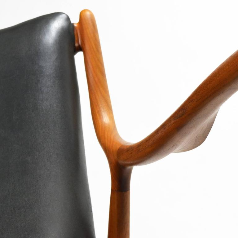 Finn Juhl Pair of No. 45 Easy Chairs 9