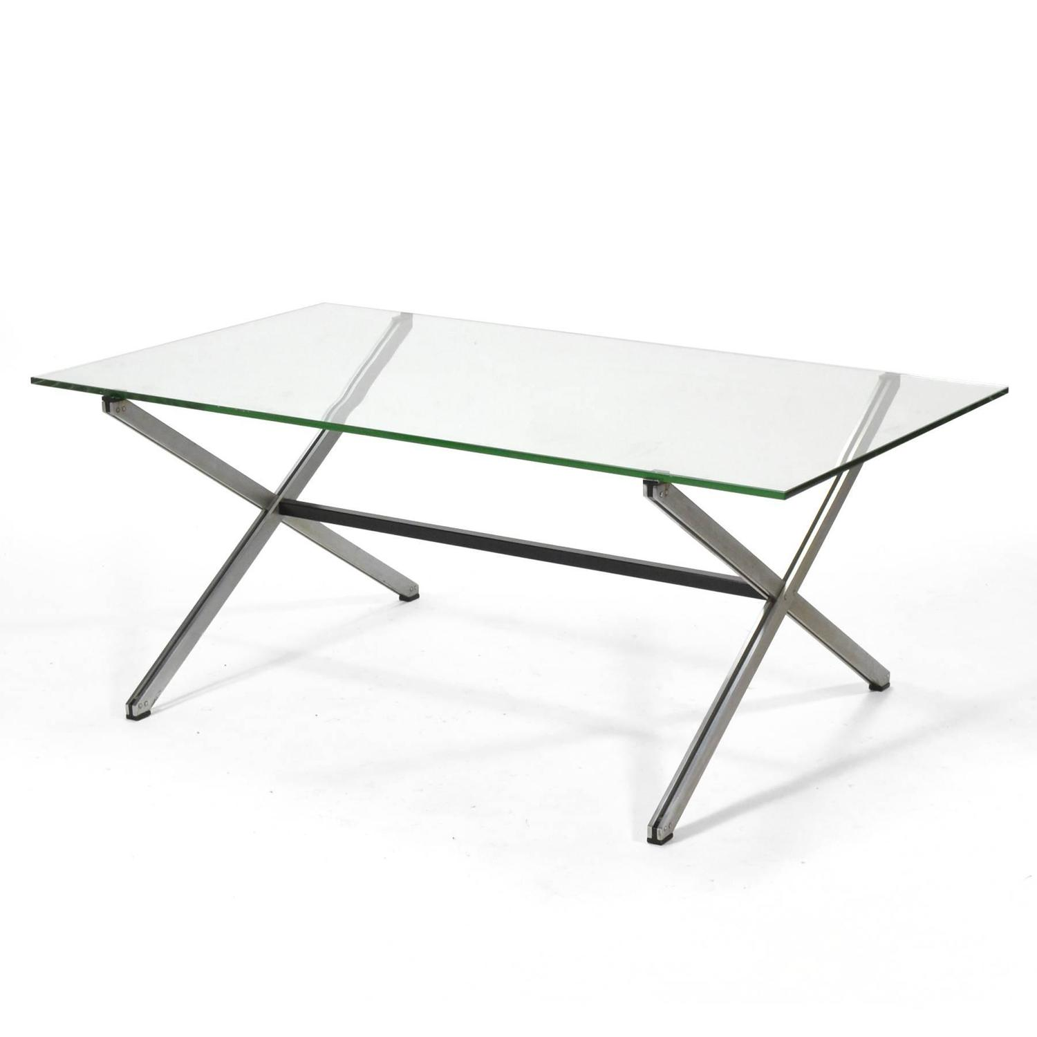 Florence Knoll Parallel Bar Coffee Table For Sale At 1stdibs