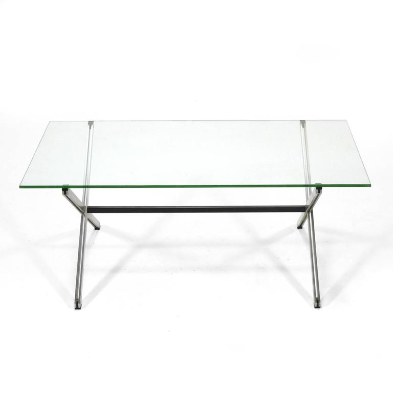 Florence knoll parallel bar coffee table for sale at 1stdibs Florence knoll coffee table